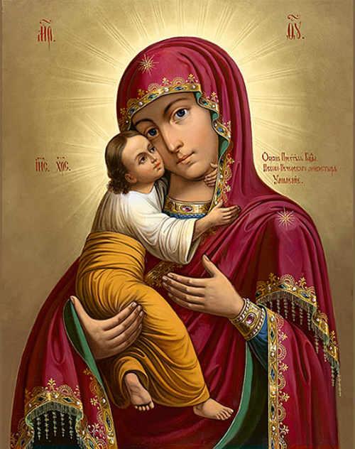 Псково-Печерской, именуемой Умиление, иконы Матери Божией