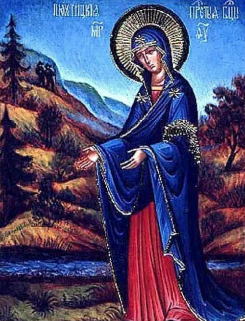 Пюхтицкой иконы Матери Божией, именуемой «У источника»