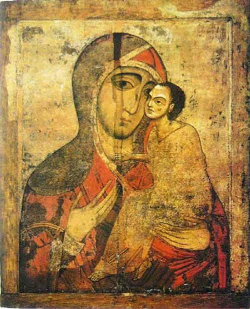 Старорусской иконы Матери Божией