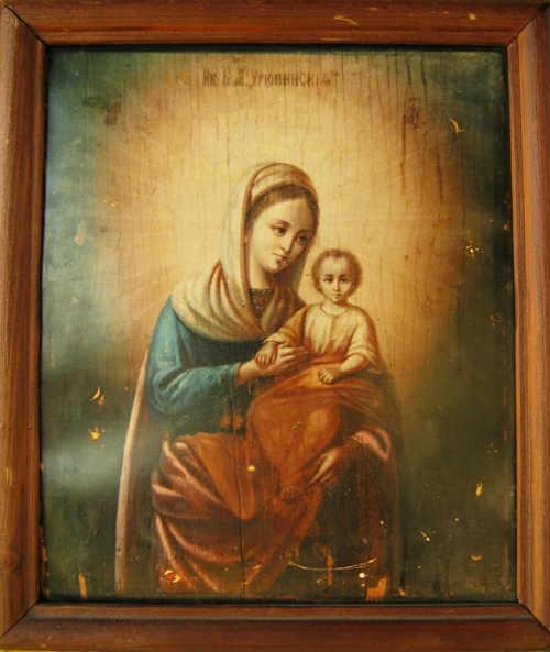Урюпинской (1821) икон Матери Божией