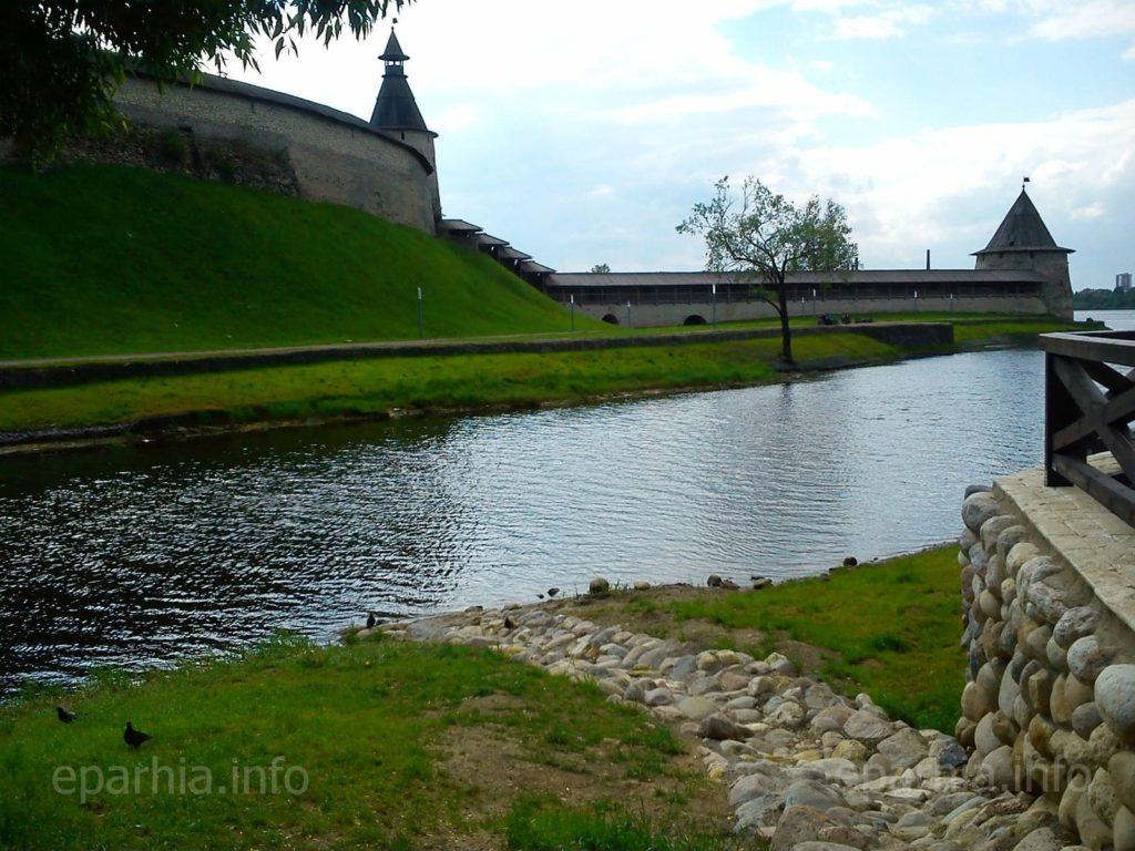 Фото псковского кремля