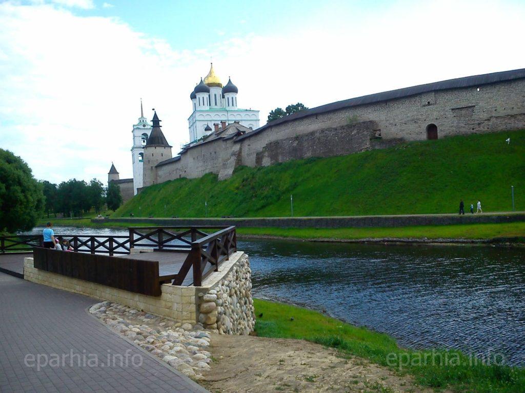Псковский Кром (Кремль) и Собор