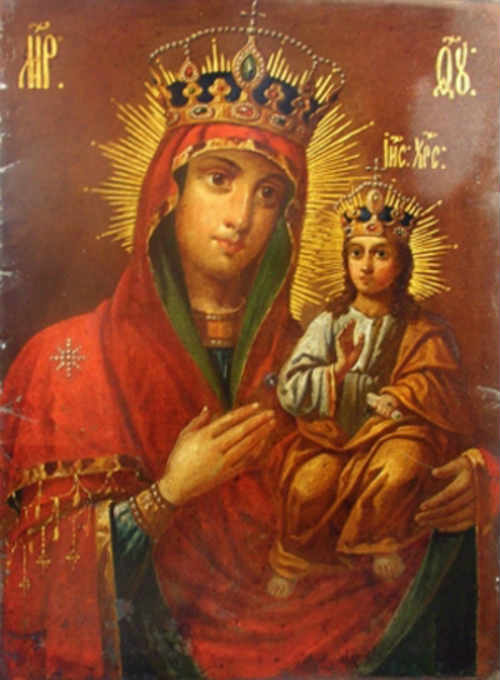 икона Матери Божией