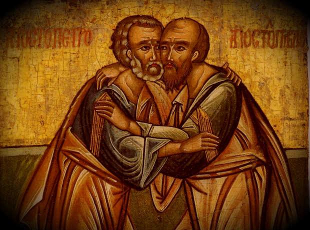 Петр и Павел икона