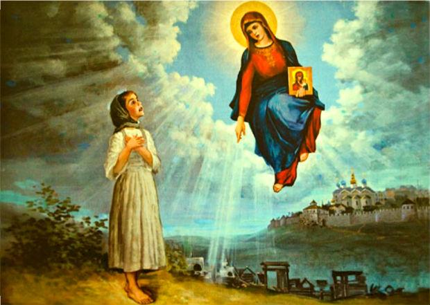 Явление Богородицы Матроне Онучиной