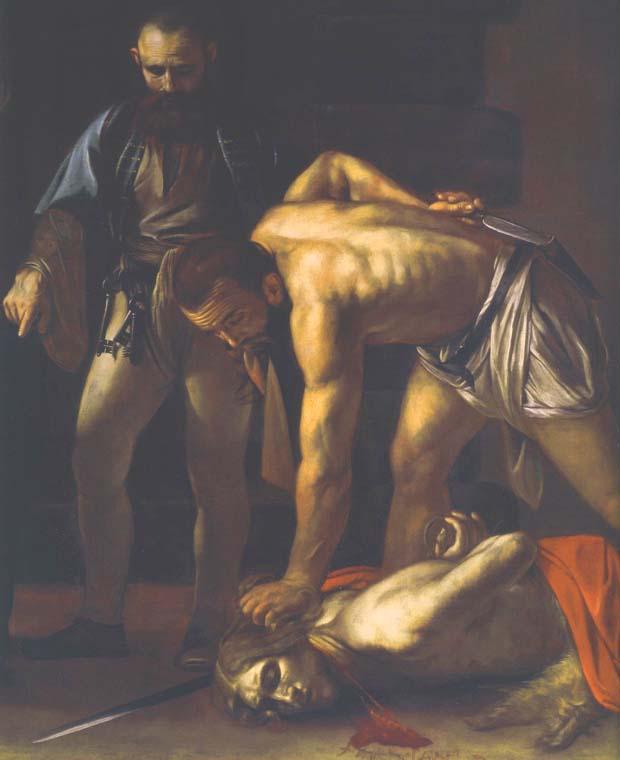 Картина Усекновение головы Иоанна Предтечи