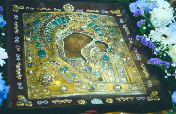 Фото: Ватиканский список иконы Казанской Богоматери