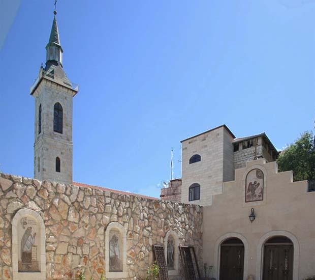 Церковь Иоанна Предтечи в деревне Эйн-Карем