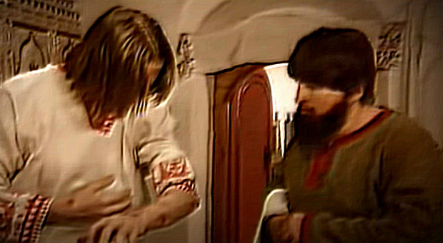Раны на теле князя Петра