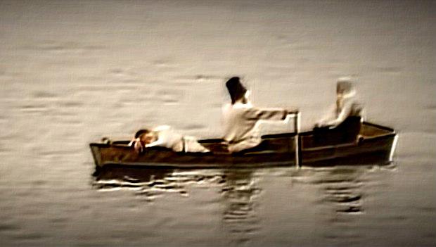 Феврония и Петр уплывают из Мурома