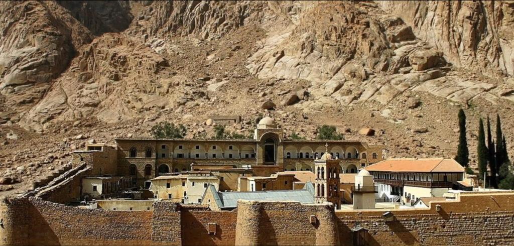Монастырь на горе Синай