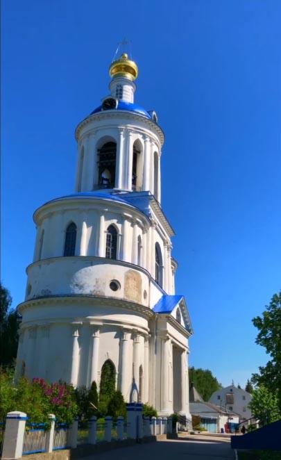 Колокольня Боголюбовского монастыря