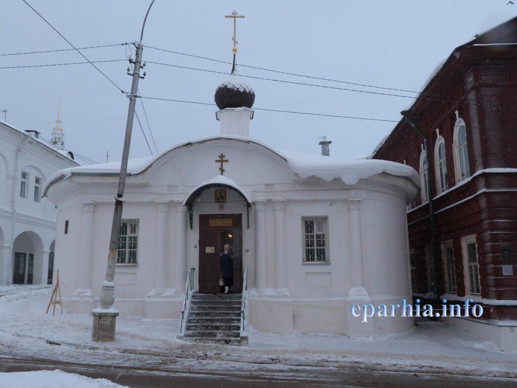 Часовня в Костроме фото фасада