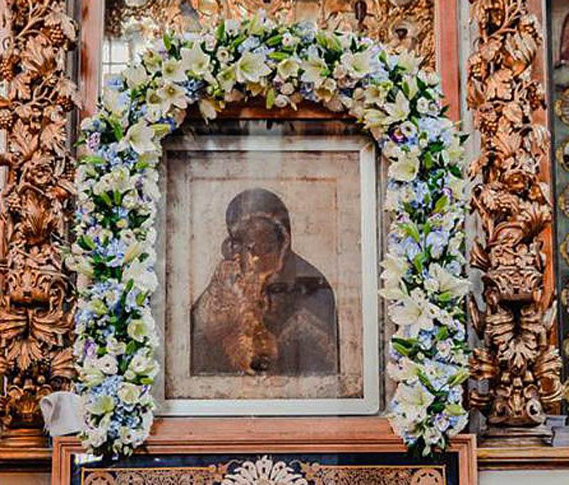 Икона Донской Матери Божией