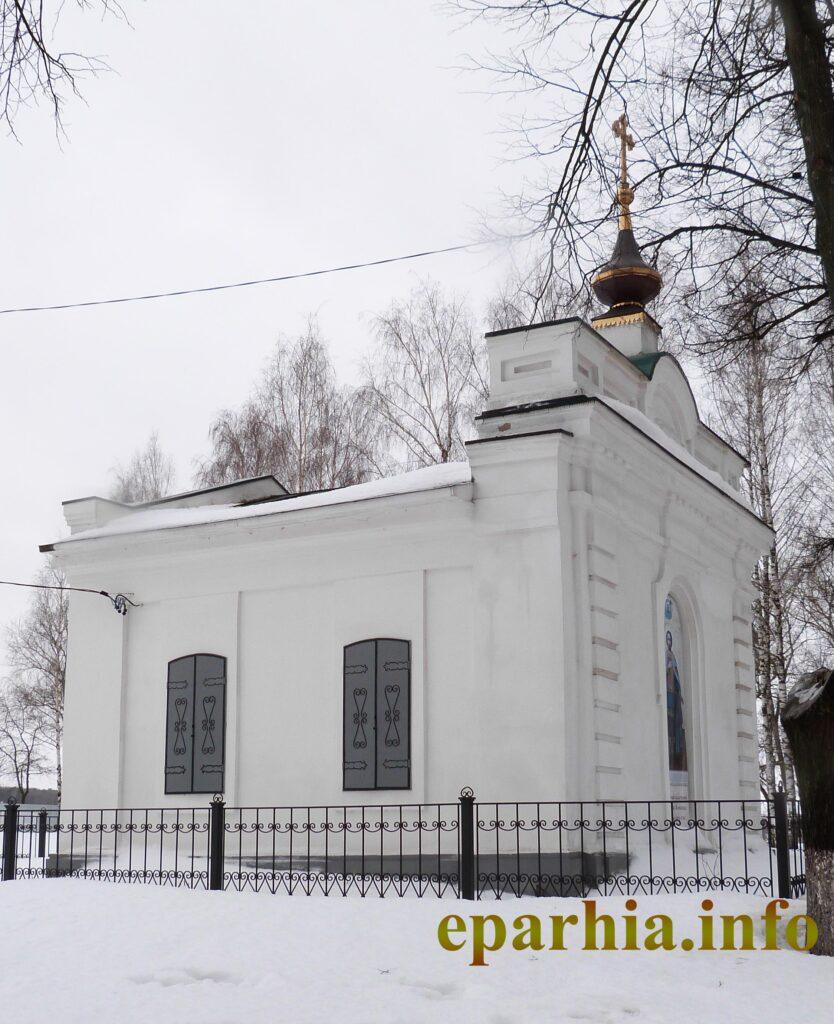 Часовня в Костроме фото